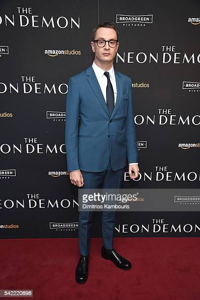 """Director, Nicolas Winding Refn attends """"The Neon Demon"""" New York Premiere at Metrograph on June 22, 2016 in New York City."""