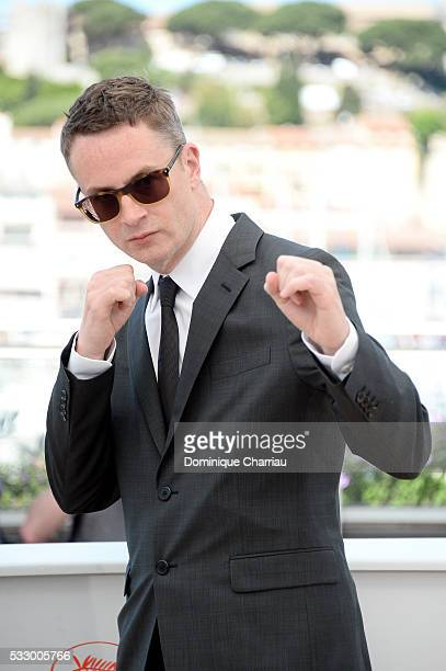 """Director Nicolas Winding Refn attends """"The Neon Demon"""" Photocall during the 69th annual Cannes Film Festival at the Palais des Festivals on May 20,..."""