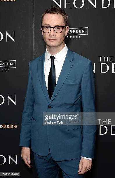 Director Nicolas Winding Refn attends the 'The Neon Demon' New York premiere at Metrograph on June 22 2016 in New York City
