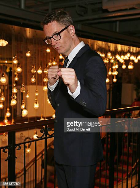 """Director Nicolas Winding Refn attends the UK Premiere of """"The Neon Demon"""" at Picturehouse Central on May 31, 2016 in London, England."""