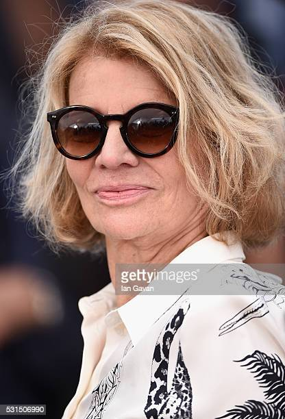 Director Nicole Garcia attends the From The Land Of The Moon photocall during the 69th annual Cannes Film Festival at the Palais des Festivals on May...