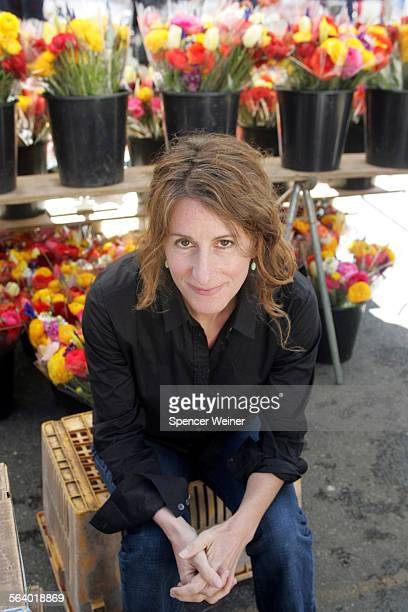 Director Nicole Holofcener photographed March 15 2006 at Santa Monica farmers market Holofcener has finished a new film 'Friends With Money' staring...