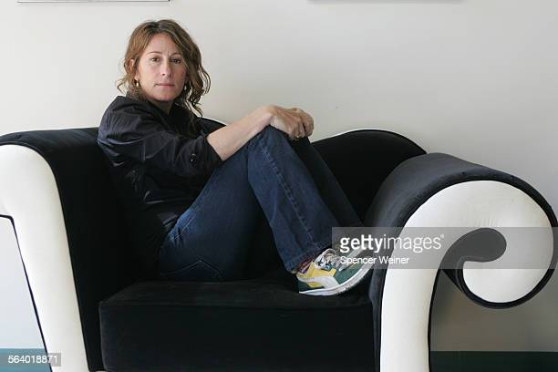 Director Nicole Holofcener photographed March 15 2006 in Santa Monica Holofcener has finished a new film 'Friends With Money' staring Jennifer...