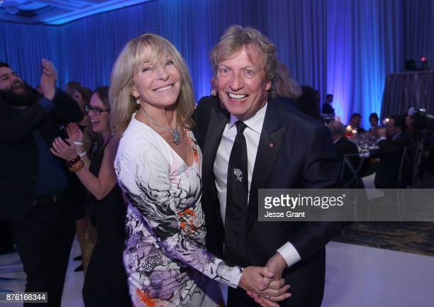 Director Nigel Lythgoe and Bonnie Lythgoe attend the Dream Foundation's 2017 Dreamland Gala at The RitzCarlton Bacara on November 18 2017 in Goleta...