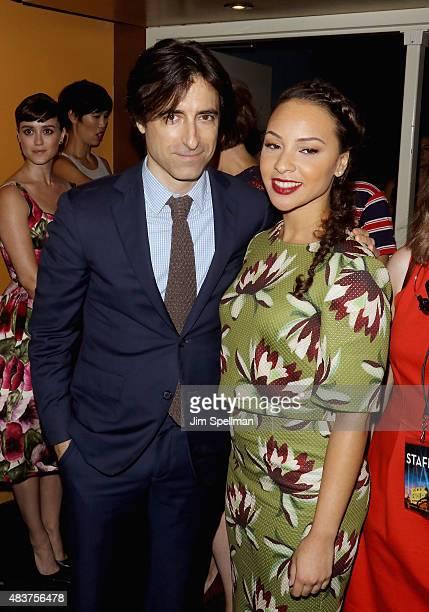 Director Noah Baumbach and actress Jasmine Cephas Jones attends the Mistress America New York premiere at Landmark Sunshine Cinema on August 12 2015...