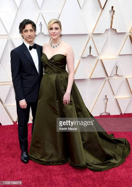 Director Noah Baumbach and Greta Gerwig attend the 92nd Annual Academy Awards at Hollywood and Highland on February 09 2020 in Hollywood California