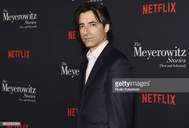 Director Noah Baumbach attends screening of Netflix's 'The Meyerowitz Stories ' at Directors Guild Of America on October 11 2017 in Los Angeles...
