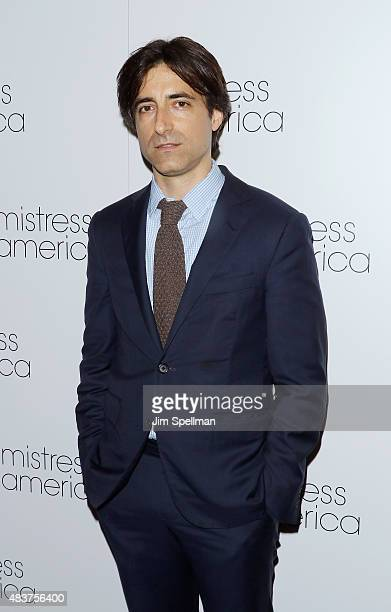 Director Noah Baumbach attends the 'Mistress America' New York premiere at Landmark Sunshine Cinema on August 12 2015 in New York City