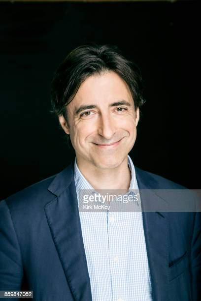 Director Noah Baumbach of the film The Meyerowitz Stories' is photographed for Los Angeles Times on September 19 2017 in Los Angeles California...