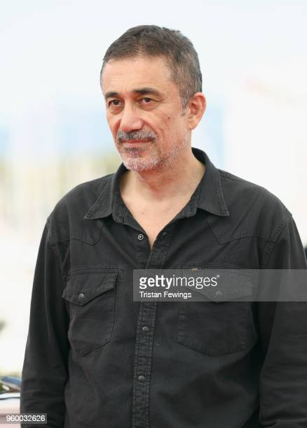 Director Nuri Bilge Ceylan attends the photocall for the Ahlat Agaci during the 71st annual Cannes Film Festival at Palais des Festivals on May 19...
