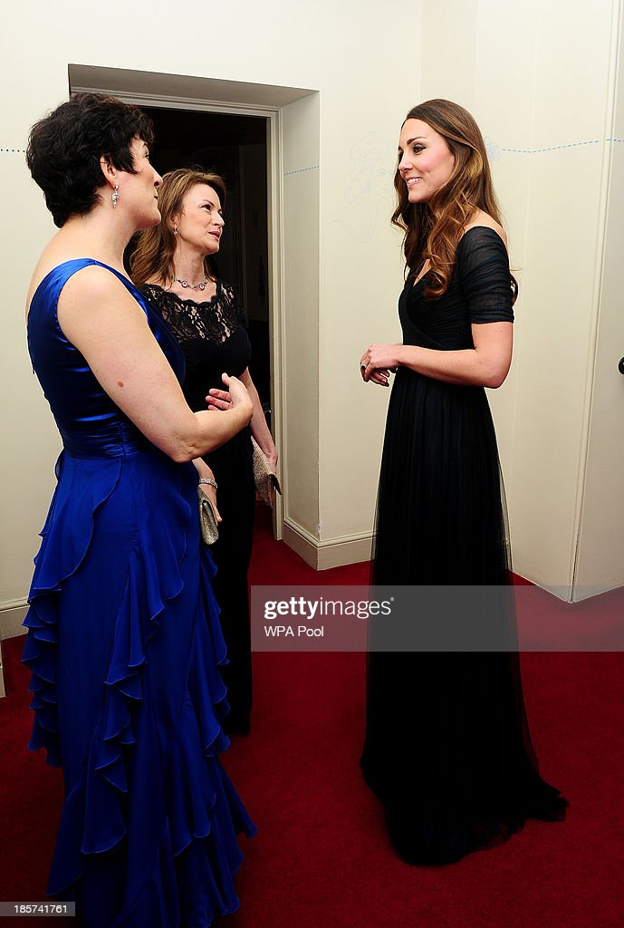 The Duchess Of Cambridge Attends 100 Women In Hedge Funds Gala Dinner In Aid Of Action On Addiction : News Photo