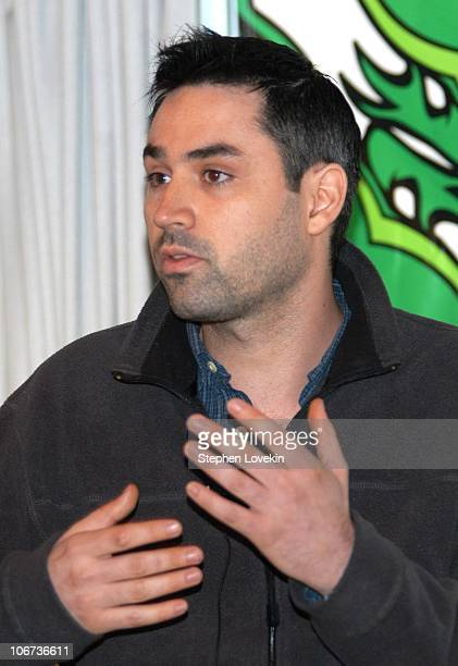 Director of 28 Days Later Alex Garland during Nantucket Film Festival 8 Morning Coffee Panel Discussion With Filmmakers Day 2 at Cap'n Tobey's in...