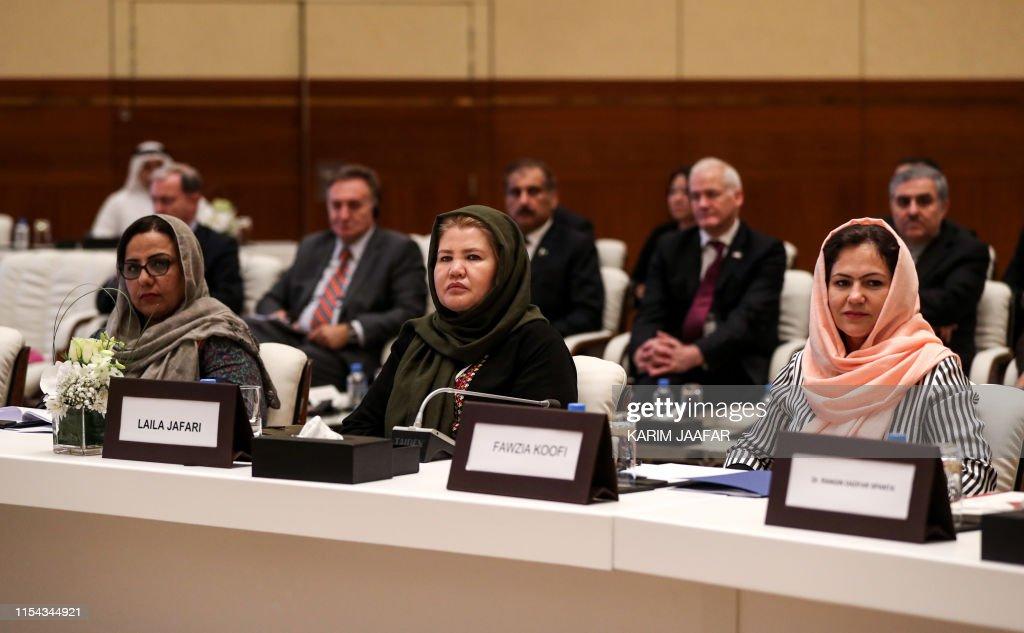 QATAR-US-GERMANY-AFGHANISTAN-TALIBAN-UNREST-PEACE : News Photo