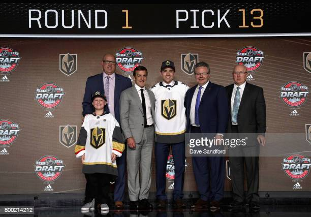 Director of amateur scouting Scott Luce general manager George McPhee Nick Suzuki 13th overall pick of the Vegas Golden Knights assistant general...