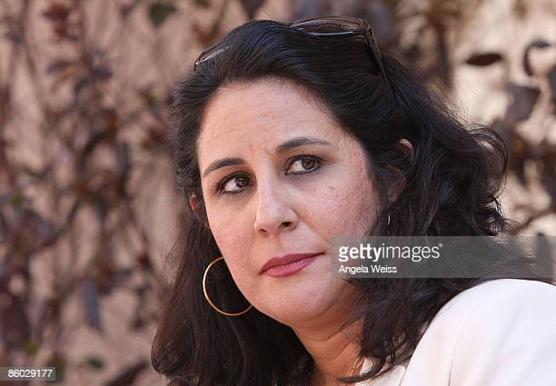 Director of Amnesty International USA Bonnie Abaunza attends Kat Kramer's 'Films That Changed The World' screening series featuring the 25th...