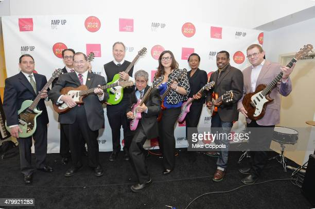 Director of Amp Up NYC Charly Schwartz Executive Director of the Office of Arts and Special Projects Paul King Congressman from the Tenth...