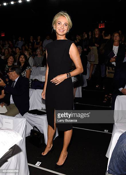 Director of Appolonia Associates Corinna zu Sayn-Wittgenstein attends the Carolina Herrera fashion show during Mercedes-Benz Fashion Week Spring 2015...
