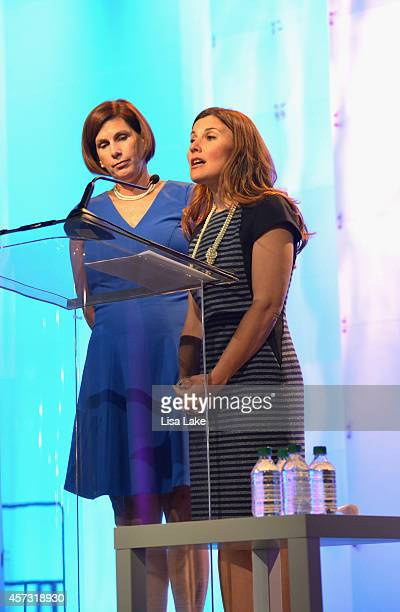EVP Director of Brand and Strategy Beneficial Bank Joanne Ryder and EVP retail banking officer Beneficial Bank Pam Cyr speak at keynote luncheon...