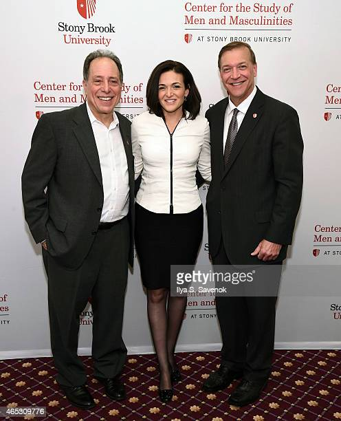 Director of Center for the Study of Men and Masculinities Michael Kimmel COO of Facebook Sheryl Sandberg and President of Stony Brook University...