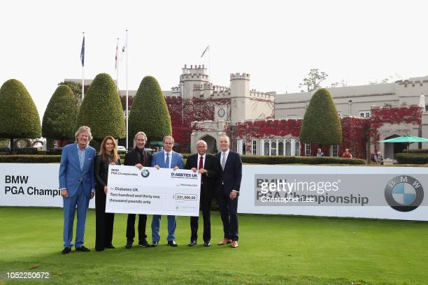 Director of Championship Management for the European Tour Jamie Birkmyre Alex Karg of BMW Mike Rutherford Nick Rose of the European Tour Foundation...