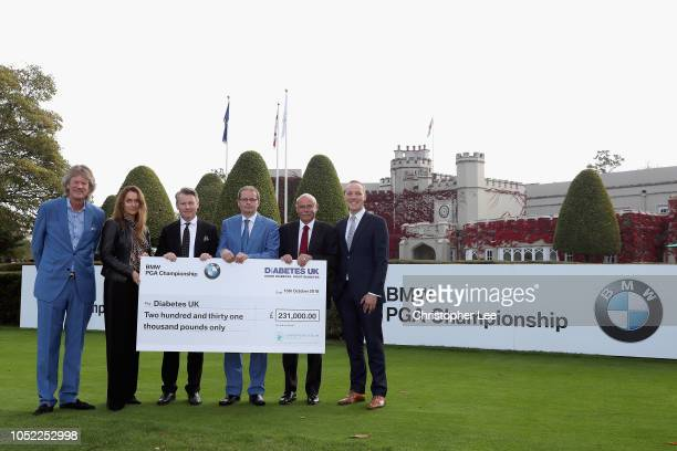 Director of Championship Management for the European Tour Jamie Birkmyre Alex Karg of BMW Stephen Gibson Nick Rose of the European Tour Foundation...