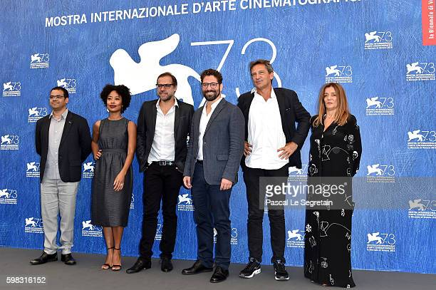 Director of cinematography Ricardo Adolfo, actress Mariana Nunes, director Marco Martin, actor Nuno Lopes, producers Francois d'Artemare and Maria...