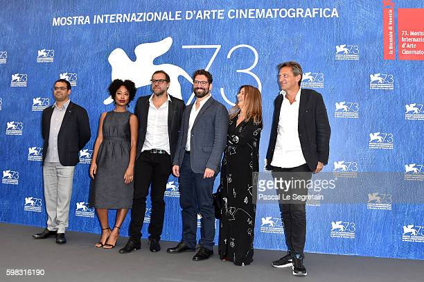 Director of cinematography Ricardo Adolfo, actress Mariana Nunes, director Marco Martin, actor Nuno Lopes, producers Maria Joao Mayer and Francois...