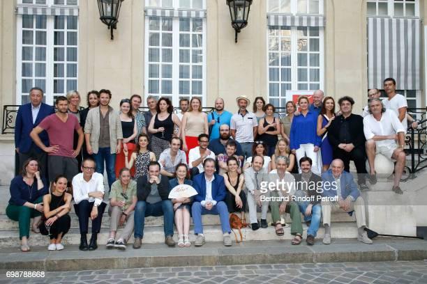 Director of Communication and Cooperative Life at the Caisse d'Epargne Thomas Levet President de l'Academie des Molieres JeanMarc Dumontet Molieres...