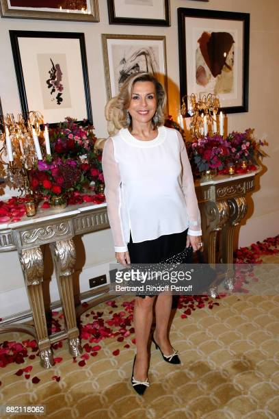 Director of Communication at Plaza Athenee Hotel Isabelle Maurin attends the Charity Gala to Benefit the 'Princess Diya Kumari of Jaipur' Foundation...