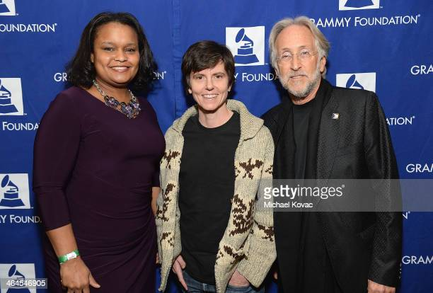 Director of Community Development for the Ford Motor Company Fund Pamela Alexander actress/comedian Tig Notaro and President/CEO of The Recording...