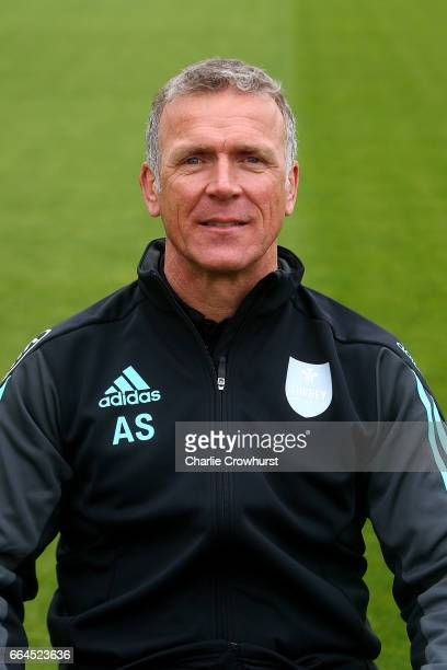 Director of cricket Alec Stewart poses for a photo during the Surrey CCC Photocall at The Kia Oval on April 4, 2017 in London, England.