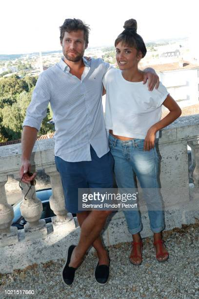 Director of 'Edmond' Alexis Michalik and DJ Camille Bertault attend the 11th Angouleme FrenchSpeaking Film Festival Day Two on August 22 2018 in...