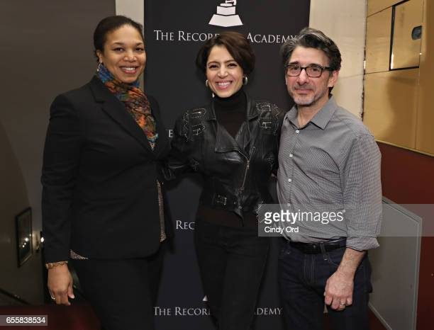 Director of Education Apollo Theater Foundation Shirley Taylor singer/ songwriter Emily King and New York Chapter of The Recording Academy Executive...
