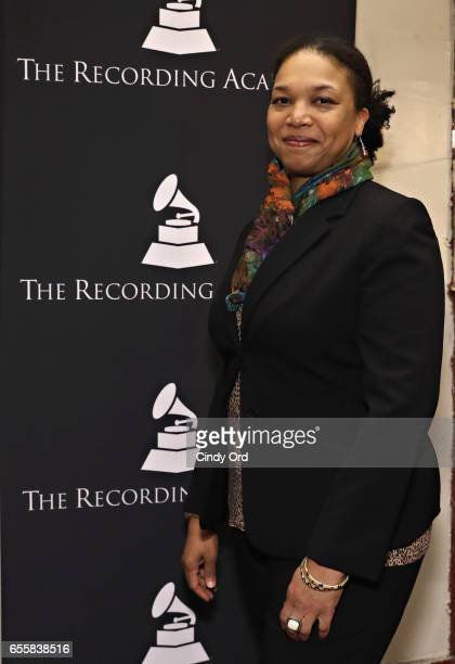 Director of Education Apollo Theater Foundation Shirley Taylor attends the GRAMMY Pro Songwriters Summit Women Making Music at The Apollo Theater on...