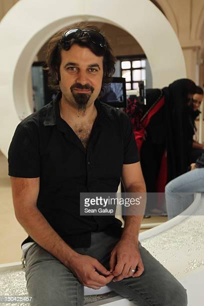 Director of Education Filmmaker Scandar Copti attends the Opening Of 'Harrer Harrer' Video Exhibition at Katara Cultural Village during day 2 of the...