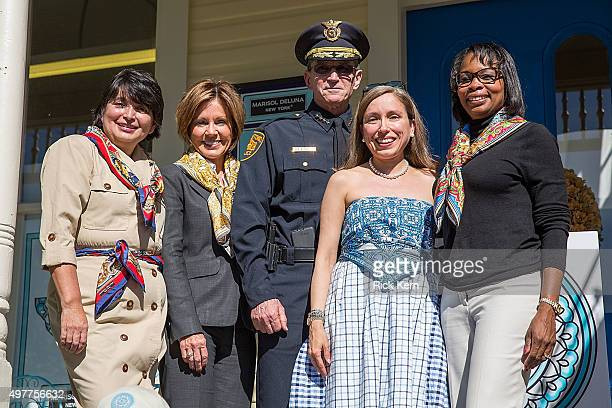 Director of Education, Ida De La Rosa Spence, San Antonio City Manager Sheryl Sculley, San Antonio Police Department Chief William McManus, Designer...