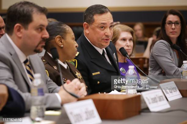 Director of Emergency General Surgery at Johns Hopkins Hospital in Baltimore Joseph Sakran, Baltimore City Sheriff's Office Domestic Violence Unit...