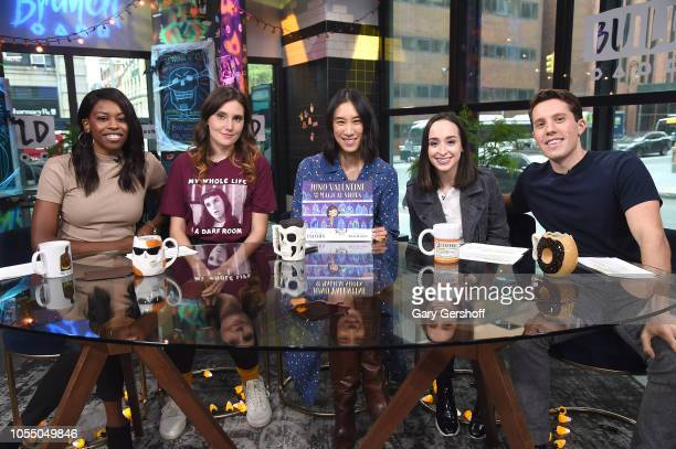 Director of fashion partnerships at Instagram Eva Chen visits Build Brunch with hosts Brittany Jones-Cooper, Shannon Coffey, Ali Kolbert and Lukas...