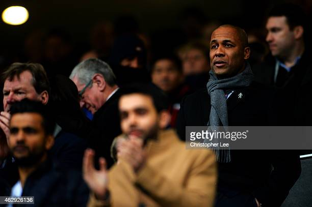 Director of Football Les Ferdinand looks on before the Barclays Premier League match between Queens Park Rangers and Southampton at Loftus Road on...