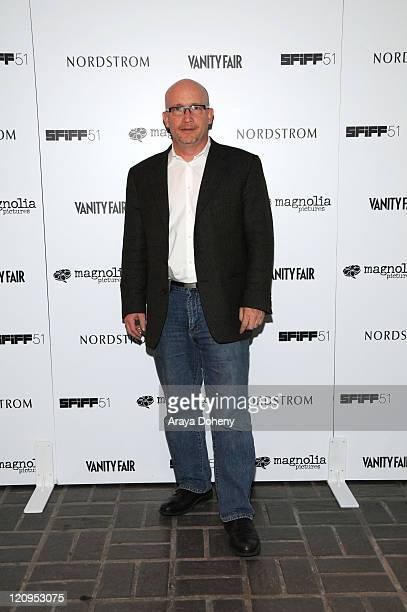 Director of Gonzo The Life and Work of Dr Hunter S Thompson Alex Gibney attends the Closing Night Vanity Fair Reel Relief VIP Party of the San...