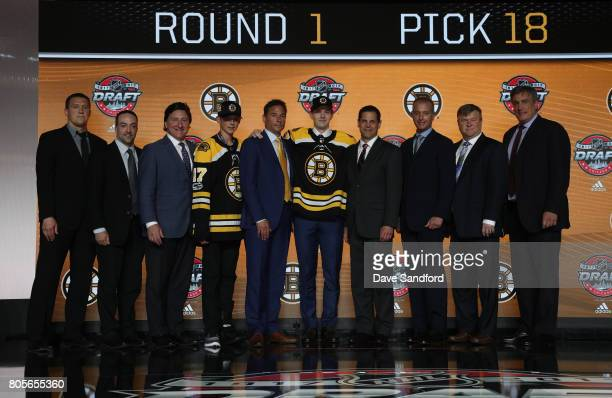Director of hockey operations and analytics Ryan Nadeau executive director of player personnel John Ferguson draft runner head coach Bruce Cassidy...
