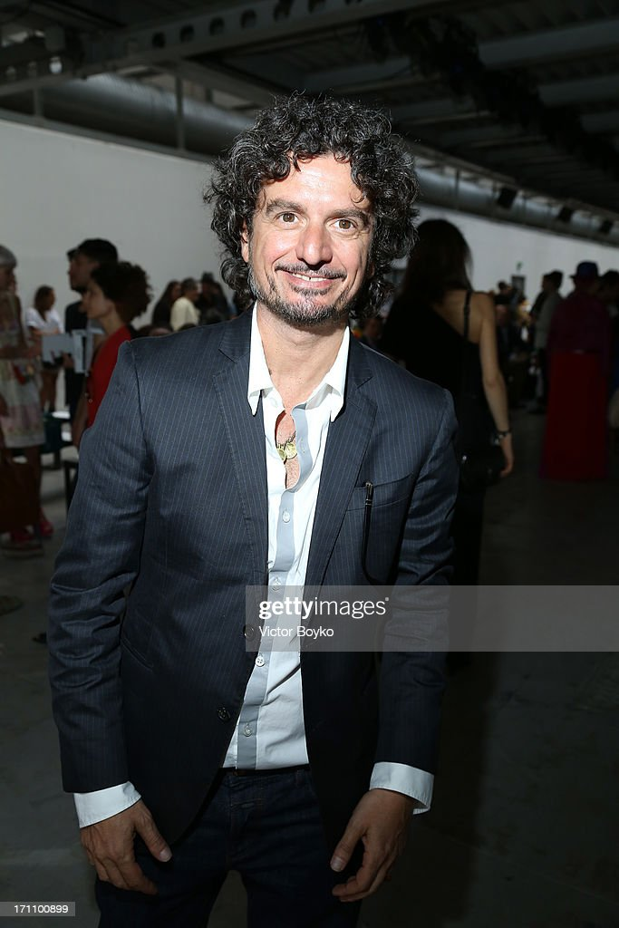 Director of Inter Campus - F.C. Internazionale Aldo Montinaro attends the Costume National Homme show during Milan Menswear Fashion Week Spring Summer 2014 on June 22, 2013 in Milan, Italy.