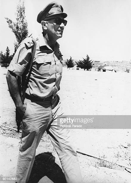 Director of Israeli intelligence agency the Mossad, General Meir Amit , 1967.