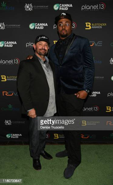 Director of Jack Herer Foundation and Brand Dan Herer and The Herb arrive at the First Budtender Awards at Light Nightclub at Mandalay Bay Hotel and...