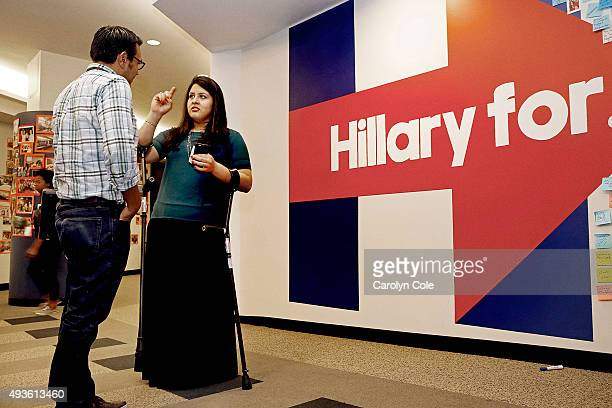 Director of Latino Outreach for Hillary Clinton's campaign 'Hillary for American' Lorella Praeli is photographed for Los Angeles Times on September...