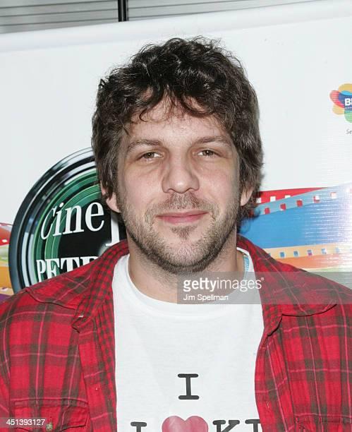 Director of Loki Paulo H. Fontenelle attends the 7th Annual Cine Fest Petrobras Brasil screening of Loki-Arnaldo Baptista at Tribeca Cinemas on...