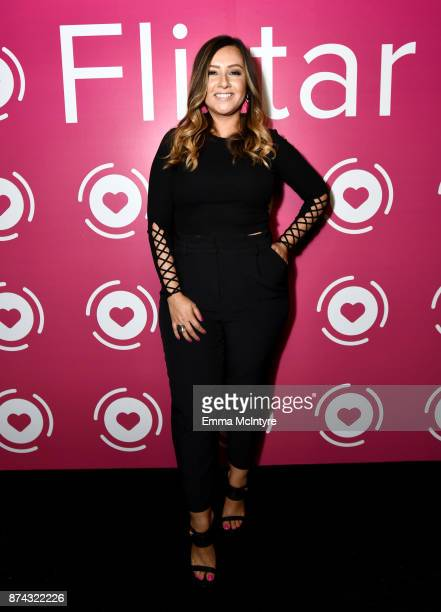 Director of Marketing Flirtar Jacqueline Bowen at Flirtar Launch Party The World's First Augmented Reality Dating App at SkyBar at the Mondrian Los...