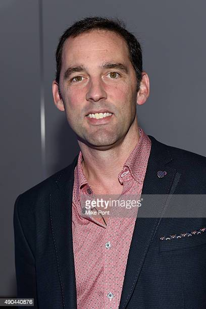 Director of Marketing Google Performance Ads at Google Matt Lawson poses at The Mobile CSuite panel during Advertising Week 2015 AWXII at the ADARA...
