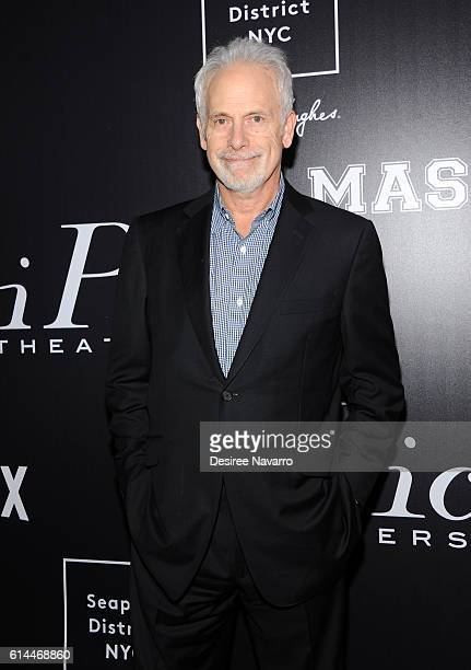 Director of Mascots Christopher Guest attends 'Mascots' New York Premiere at iPic Fulton Market on October 13 2016 in New York City