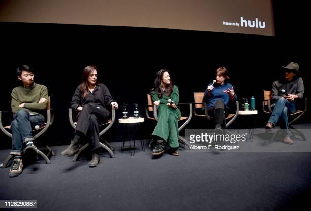 Director of 'Minding The Gap' Bing Liu director Alexandria Bombach of 'On Her Shoulders' filmmaker Elizabeth Chai Vasarhelyi of 'Free Solo' director...